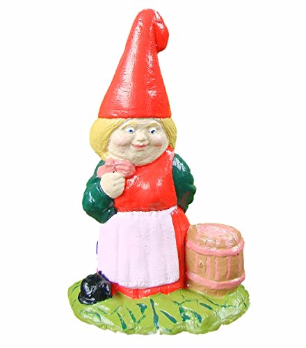 GARDEN GNOME ~ CIDERELLA ~ LADY WITH SCRUMPY