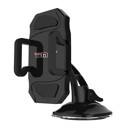 Temco HCM103-N - Soporte Ventosa para Móvil, 6.3 Pulgadas, Color Negro