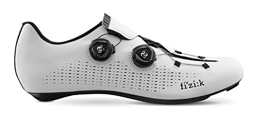 Fizik Sattel R1Infinito Schuhe, Weiß/Schwarz, Gr. 40,5
