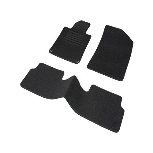 DBS 1765704 Tapis Auto – Sur Mesure – Tapis de sol pour Voiture – 3 Pièces – Antidérapant – Moquette noir 900g/m² – Finition Velours – Gamme Star Acheter en ligne