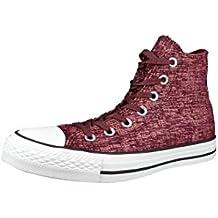 bedc6da82fb2 Converse Chucks 553412C CT Sparkle Knit Pink Blush Deep Bordeaux White  Weinrot