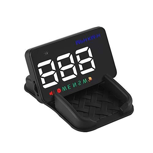 SG HUD Head-Up Display, Auto Universal Auto GPS Satelliten Geschwindigkeitsanzeige HD Projektor Zeit für alle Modelle (Automobil-digital-kompass)