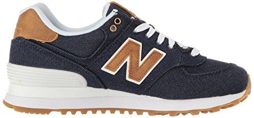 New Balance Damen Wl574 Sneakers Pigment/Beeswax