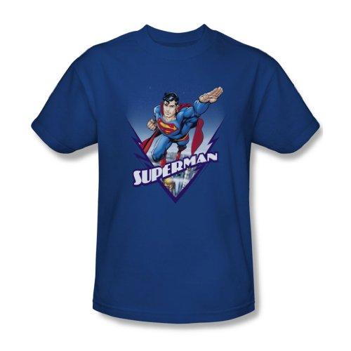 Superman - Dieser sieht aus wie ein Job für Erwachsene T-Shirt in Königsblau, XXX-Large, Royal Blue