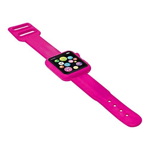rgummi Smartwatch 19,5 x 3 x 0,8 cm, Kunststoff, pink ()