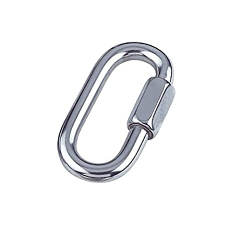 Bulk Hardware BH04986 Quick Link, A2 316 Marine Grade Stainless Steel M5 (3/16 inch) - Pack of 2