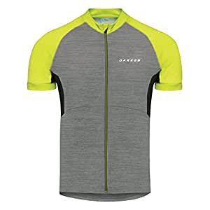 Dare 2b Mens Sequal Lightweight Reflective Running Zip Up Jersey Top