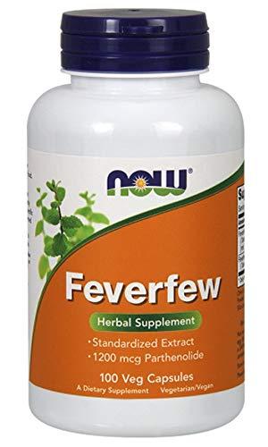 Feverfew, 100 Veggie Caps - Now Foods