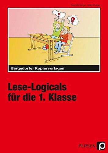 Buchcover Lese-Logicals für die 1. Klasse