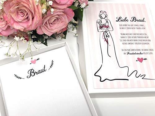 Hochzeit Geschenk Braut - Taschentuch für Freudentränen (Mutter Der Braut-taschentuch)
