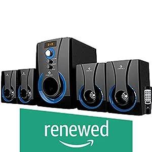 (Renewed) Zebronics 4.1 Multimedia SW3490 RUCF Wired Home Audio Speaker(Black, 4.1 Channel