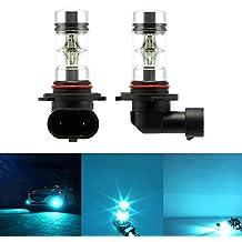 2x H10 100W LED Nebbia Lampadina Alta Potenza 2323 SMD 8000K LED Bulbi Proiettore Nebbia Guida DRL Luci di Ghiaccio Blu