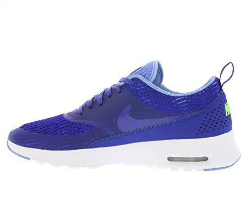 Nike W Air Max Thea EM, Chaussures de Sport Femme, 35.5 EU Orange - Naranja (Concord / Concord-Chalk Blue)