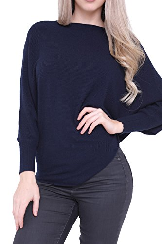 Aftershock London Maglia a manica lunga - Donna Navy