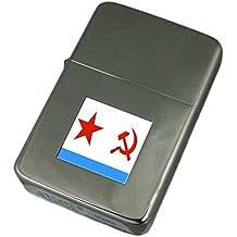 Accendino inciso marina sovietica Ensign Militairy URSS Bandiera