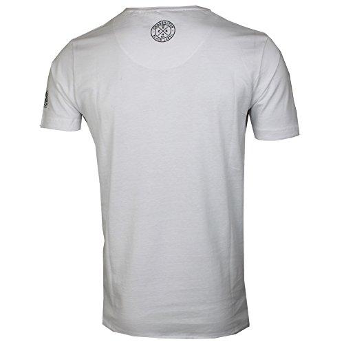 Crosshatch Herren T-Shirt * Weiß
