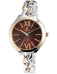 Reloj de pulsera de cadena de metal Timento