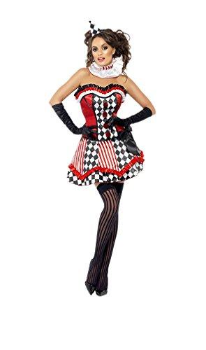 GGTBOUTIQUE Frech Circus Jester Kostüm (Medium)