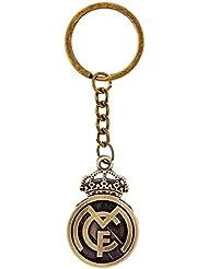 Soccer Club Real Madrid Metall Bronze Doppel Faced Schlüsselanhänger