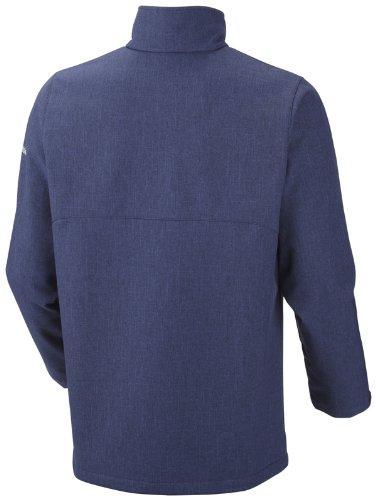 Columbia homme treasure mountain iI veste softshell Bleu - Bleu foncé