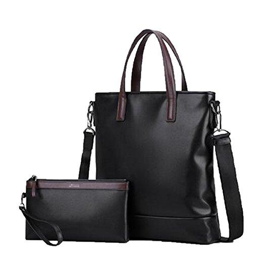 Männer Business-Tasche Mode-Multifunktions-Umhängetasche Leder Aktentasche,C-27*30*6CM