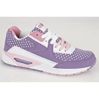Dek OMG! Girls Junior Lace-Up Running Trainers