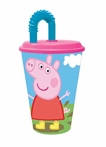 Peppa Pig- Plastico Value 430ml Vaso caña (STOR 52830)
