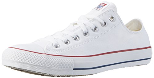 Converse Chuck Taylor All Star Core Ox, Baskets mode mixte adulte - Blanc (Optical), 37.5 EU