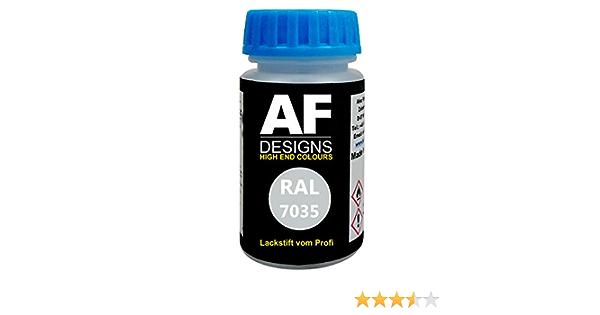 Alex Flittner Designs Lackstift Ral 7035 Lichtgrau Stumpfmatt 50ml Schnelltrocknend Acryl Auto