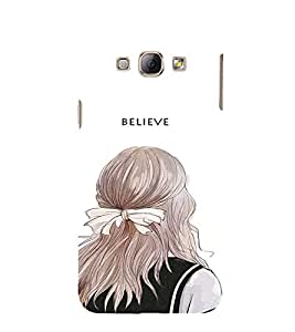 EPICCASE Believe In yourself Mobile Back Case Cover For Samsung Galaxy A8 (Designer Case)