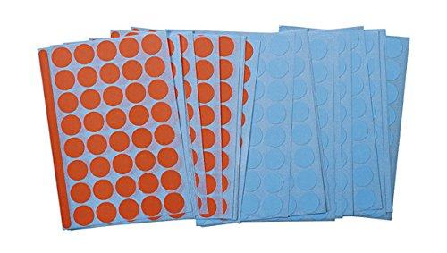 Legamaster 7–243000adhesivos redondo, diámetro 19mm, 1040pieza, rojo/azul