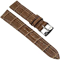 Morellato Bolle Replacement Band Watch Band Leather Kalf Strap brown 12mm 20145S