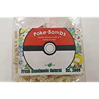 SPA PURE POKEMON Bath Bomb - For Kids With Surprise Toys Inside (POKEMON) USA made, Natural, Organic XL 5 oz Gift For Girls/Boys
