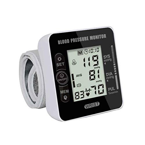 XUEYAYI Elektronisches Blutdruckmessgerät für das Handgelenk, Automatisches Zuhause, Keine Stimme , Schwarz