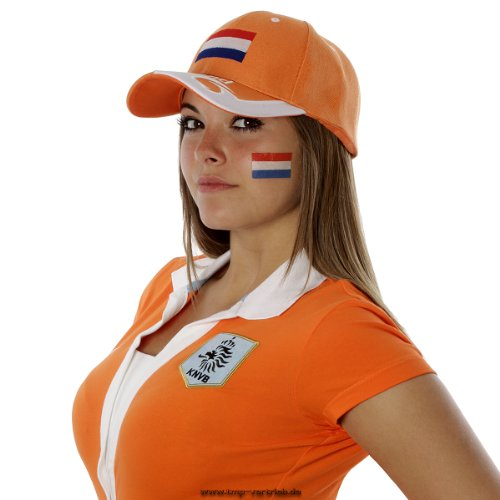 5 x Holland Tattoo Fan Fahnen Set - Niederlande - The Netherlands temporary tattoo Flag (5)