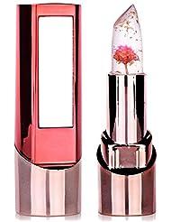 Lippenstift Richoose Lange haltbare Farbwechsel Feuchtigkeitsspendende Glanzblume Professionelle helle Surplus Lippen Kosmetik Mit einem schönen Spiegel für Mode Frauen