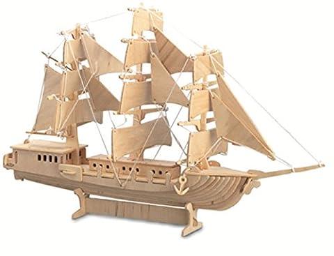 Sailing Ship QUAY Woodcraft Construction Kit