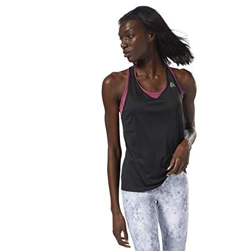 Reebok Golf Shorts (Reebok Damen Running Essentials Tank Top, schwarz, Medium)