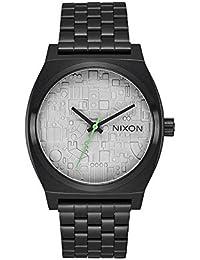 Nixon Herren-Armbanduhr Analog Quarz Edelstahl A045SW2383-00