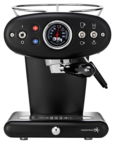 illy X1 Anniversary Iperespresso Kapselmaschine Espresso+Coffee, schwarz