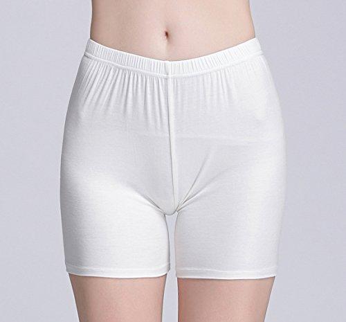 Vinconie Damen Shorts Leggings Kurz Hose Yoga Tanzen Shorts Hotpants 2 Pack Schwarz & Weiß