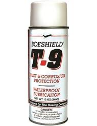 Boeshield T9 Lubricante Bicicleta Spray, Blanco, 340 Gr / 12 Oz