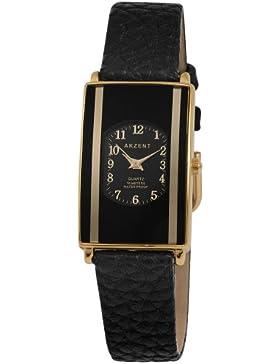 Akzent Damen-Uhren mit Polyurethan Lederband SS7301000016