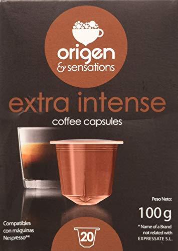 Origen Sensations 41735 Extra Intenso Origen Sensations Compatibles Nespresso, 20 Cápsulas
