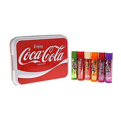 Lip Smacker Boite Métal Collector Coca Cola Coke Enjoy !