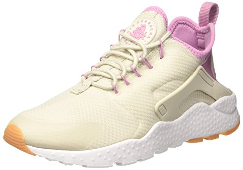 Nike Damen Air Huarache Run Ultra Laufschuhe, Beige (Light Bone/Orchid/Gum Yellow/White), 40.5 EU