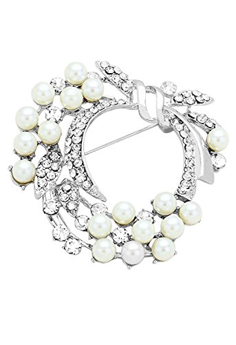 rosemarie-collections-da-donna-stile-vintage-faux-perla-floreale-spilla-pin