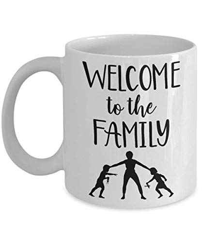 Welcome to the family - Family Memes - Funny Parody Ceramic Mug Meme Thumbs Up Like Gift For Family - Fun Novelty Souvenir Gift for Friends, Office Co-workers, Family Birthday Gift 11 oz