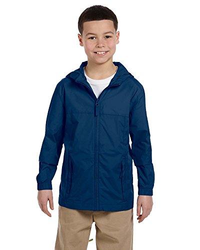 Youth Essential Rainwear NEW NAVY M Navy Blue Raincoat