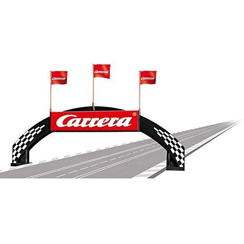 Carrera Bridge with Carrera logo for 124 / 132 slot car track 21126 by Carrera USA